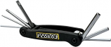 Pedros Folding Hex Wrench Sets