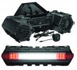 Boss Audio 800 Watt Bluetooth All Terrain Sound System with 8in. Speakers and Light Bar
