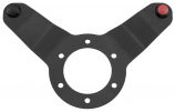 Dragonfire Racing Shallow Steering Wheel Plate