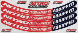 Neutec Tubliss Nitromousse Dayglo Sticker Kits