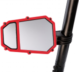 Moose Utility Add-On Acent Frame for Elite Series Pro UTV Side Mirror - Red