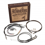 Burly Brand Extended Cable/Brake Line Kit for 12in. Ape Handlebars