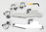 Memphis Shades Trigger-Lock Mount Kit for Cafe Fairing - Polished [Warehouse Deal]