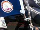 Pro Pad Antenna Flag Mount with Flag for Gold Wing