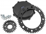 Twin Power Chain Conversion Kit for Touring Cush Drive with 51T Rear Sprocket