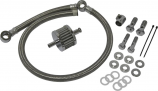 Harddrive Breather Kit with Braided Hose