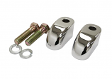 La Choppers Pullback Extensions for Handlebar Risers - 2in. - Chrome [Warehouse Deal]