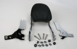 Jardine Complete Touring Steel Passenger Backrest and Mounting Kit