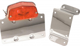 EMGO Lucas Style Taillight with License Plate Bracket