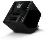 Uclear Dual Port AC/USB Charge Adapter