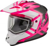 GMAX GM-11S Trapper Womens Helmet with Electric Shield