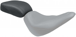 Mustang Wide Tripper Passenger Seat - Smooth - Black [Warehouse Deal]