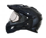 AFX FX-41DS Solid Helmet with Dual Lens Shield (Lg) [Warehouse Deal]