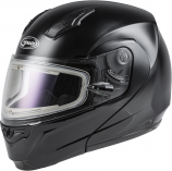 GMAX MD-04S Solid Helmet with Elecric Shield