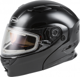 GMAX MD-01S Solid Helmet with Electric Shield