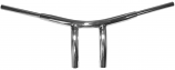 Drag Specialties 1-1/2in. T-Bar Radius Handlebar for Victory - Chrome [Warehouse Deal]