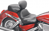Mustang Sport Touring Two-Piece Seat with Driver Backrest
