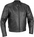River Road Race Vented Leather Jacket