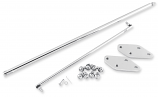 Bikers Choice Brake Rod Replacement for Forward Controls 2in. Extension Kit