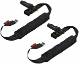 Drop-Tail Trailers Motorcycle Back-End Tiedown Straps