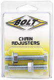 Bolt MC Hardware Chain Adjuster Nut and Bolt Assembly