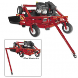 Quadboss Rough Cut 52in. Mower with 17.5 hp Briggs & Stratton Motor, Electric Start