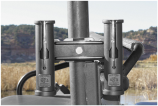 All Rite Products Catch and Release Double Rod Holder