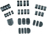 Kuryakyn Replacement Rubber Pads for ISO-Stirrups