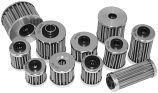 PC Racing FLO Drop In Stainless Steel Short Oil Filter