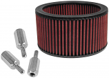 S&S Cycle Replacement Filter for High Flow Air Filter And Adapter Kit