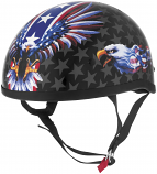 Skid Lid Helmets Original USA Flame Eagle Helmet