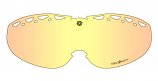 Triple 9 Optics Replacement Lens for Saint Snow Goggles with Tear Off Pins