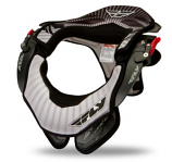 Fly Racing Front Pack Podium/Valor Neck Brace - Black - Lg/XL [Less Than Perfect]