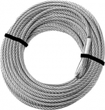 KFI Products Replacement Steel Cable for KFI Winch Kit - 4500-5000 Wide Series