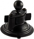 Ram Mounts RAM 3.25in. Diameter Suction Cup Twist Lock Base with 1in. Ball
