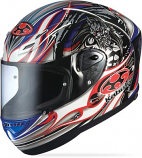 Kabuto FF-5V Aerodynamic Racing Graphic Helmet