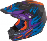 Fly Racing F2 Carbon Andrew Short Graphic Helmet