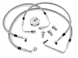 Twin Power DOT Front Brake Line Kit