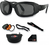 Bobster Eyewear Sport and Street Convertible Sunglasses/Goggles