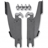 Memphis Shades Trigger-Lock Mount Kit for Sportshield Windshields - Polished [Less Than Perfect]