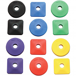 Fast-Trac Air Lite Round Backer Plates
