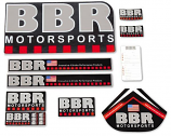 BBR Motorsports BBR Decal Sheet