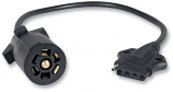 Optronics Inc 7 to 5 Way Trailer Adapter Cable