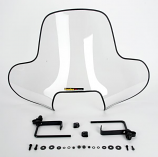 Maier Mfg Universal Clear ATV Windshield with Cutout