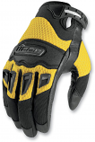 Icon Twenty-Niner Gloves (Black / Lg) [Warehouse Deal]