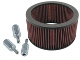 S&S Cycle Replacement High-Flow Filter For S&S Super E and G Carbs
