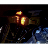 Alloy Art LED Front Signal Lights with Smoked lens/Amber LEDs