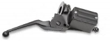 Drag Specialties 5/8in. Single-Disc Master Cylinder with Lever and Clamp Half