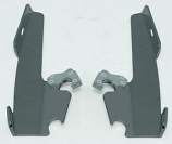 Memphis Shades Plates-Only Kits for Changing Sportshields to Fats/Slim or Batwing Fairings
