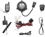 Gorilla Automotive 9100 Cycle Alarm with 2-Way Paging System
